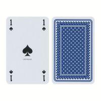 Franse speelkaarten piket deck blauw