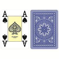 Modiano Poker Cristallo Blu Plastica