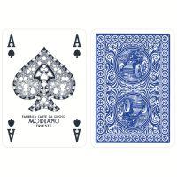 Golden Trophy Modiano speelkaarten blauw