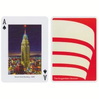 New York Playing Cards The Guggenheim Museum