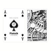 Piatnik speelkaarten Escher schoppen aas