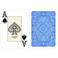 Plastic speelkaarten Modiano Texas poker lichtblauw