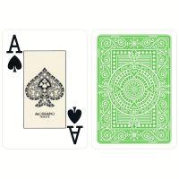 Plastic speelkaarten Modiano Texas poker lichtgroen