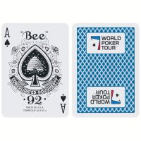 WPT speelkaarten blauw