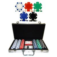 Pokerkoffer 300 chips