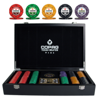 Poker set Copag Texas Holdem 300 chips