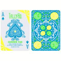 Summer Fan Tally-Ho Playing Cards 2019
