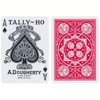 Tally-Ho Fan Back kaarten Rood