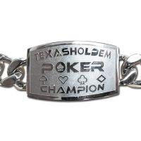 Texas Holdem Poker Kampioen Armband
