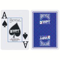 Bicycle speelkaarten WPT blauw