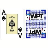 World Poker Tour gouden editie speelkaarten blauw Fournier