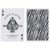 Zebra King Slayer Playing Cards